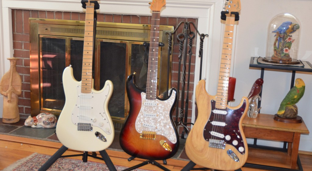 Some Stratocasters