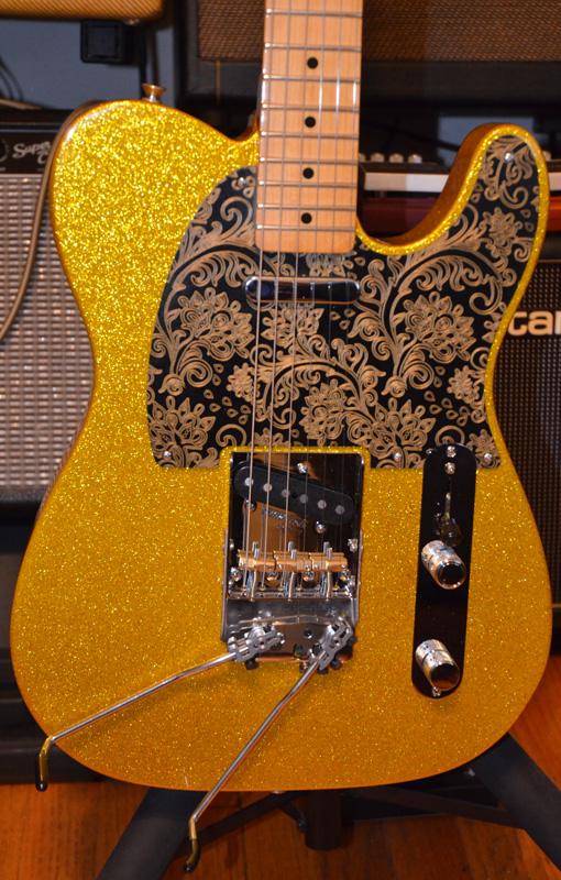 fender gold sparkle baja telecaster chasingguitars 5-Way Telecaster Wiring-Diagram